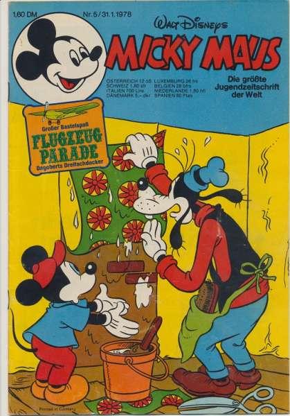 Micky Maus Nr. 5/1978