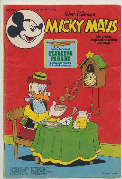 Micky Maus Nr. 3/1978