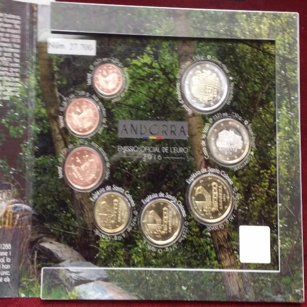 Andorra 2016 Kursmünzenset KMS Coinset