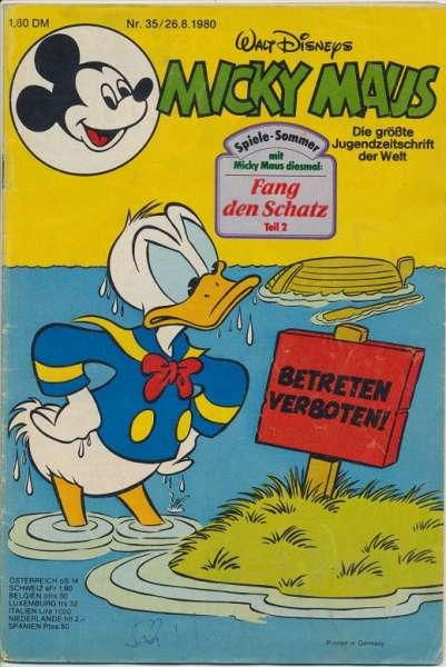 Micky Maus Nr. 35/1980
