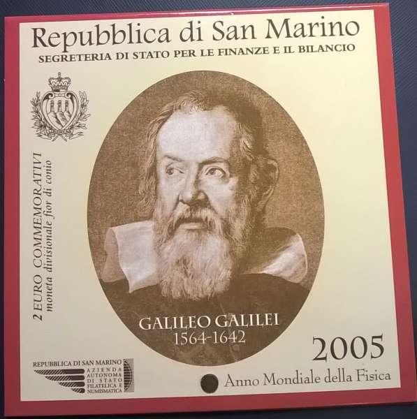 2 Euro San Marino 2005 Galileo