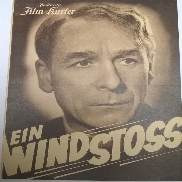 Illustrierter Film - Kurier Ein Windstoss