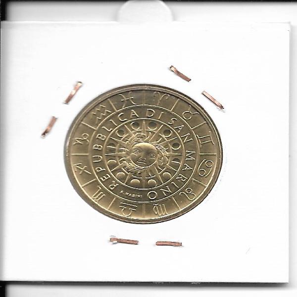 San Marino 2018 5 Euro Stier Zodiac Sternzeichen