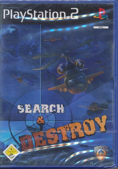 Ps 2 Spiel Search & Destroy Neu