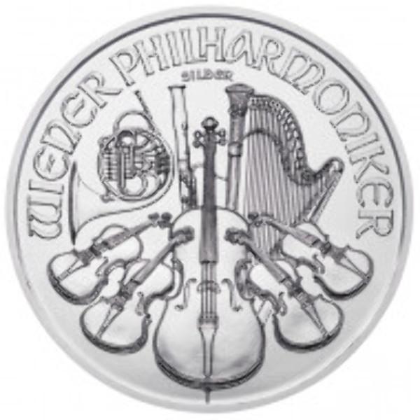 1,5 Euro Österreich Philharmoniker 1 OZ Silber