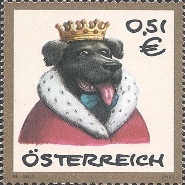 "ANK 2427 Haustiere -""Hund"" 0,51 €** 2002"