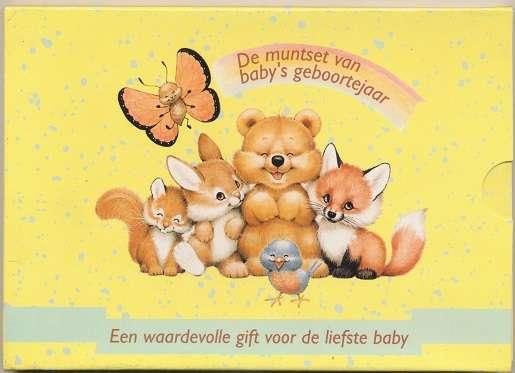 Kursmünzenset Kms Coinset Niederlande 1999 Babysatz