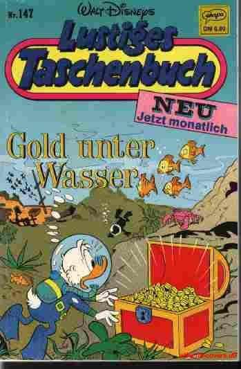 LTB Band 147 LTB Gold unter Wasser