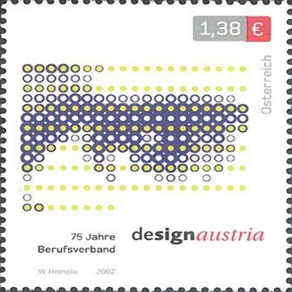 "ANK 2433 Design Austria - ""Auge"" 1,38 €** 2002"