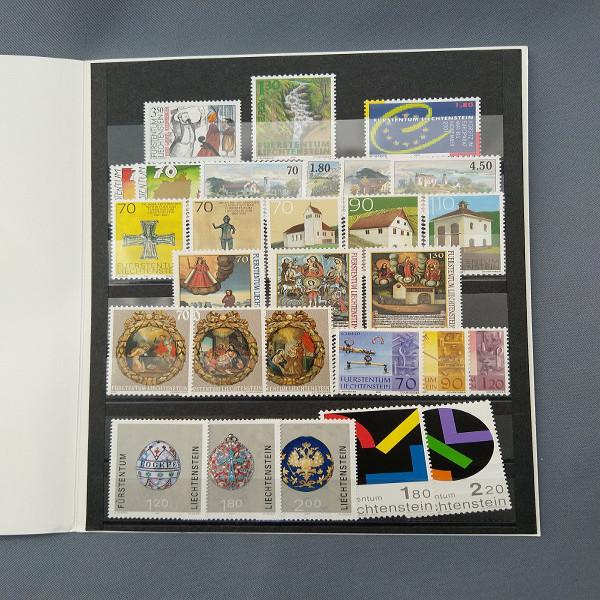 Liechtenstein 2001 Jahresmappe postfrisch