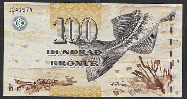 Foroyar Inseln – 100 Kronur () (Pick 25) Erh. UNC