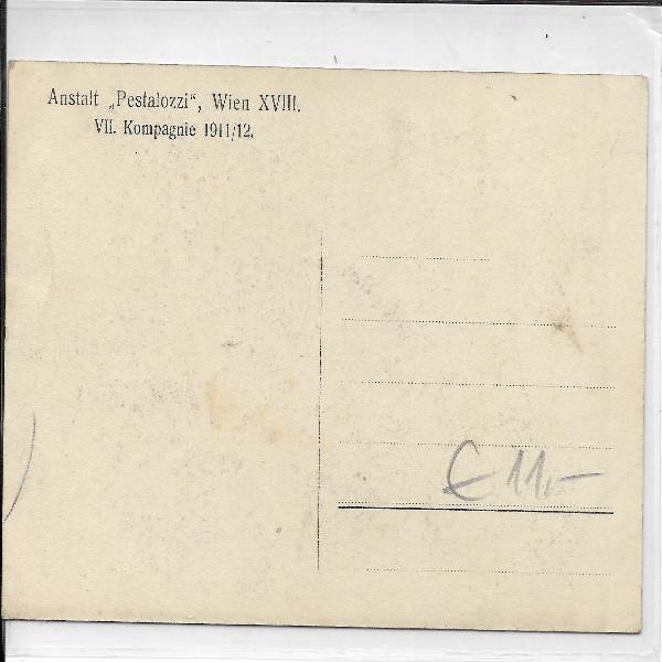 AK-1WK Nr. 1005 Pestalozzi Wien XVIII 1911/12