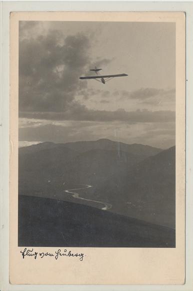 Segelflug 9.8.1936