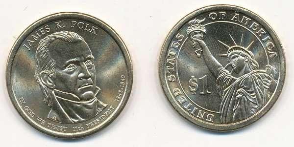 USA 1 Dollar 2009 D James Polk (11)