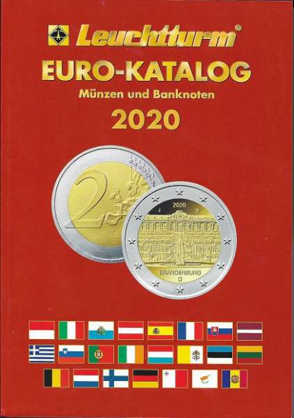 Leuchtturm Euro-Münzen und Banknoten Katalog 2020