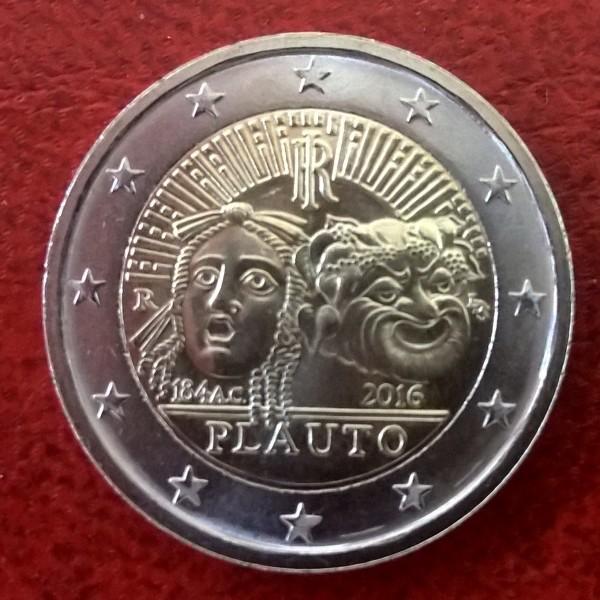 2 Euro Italien 2016 Plauto