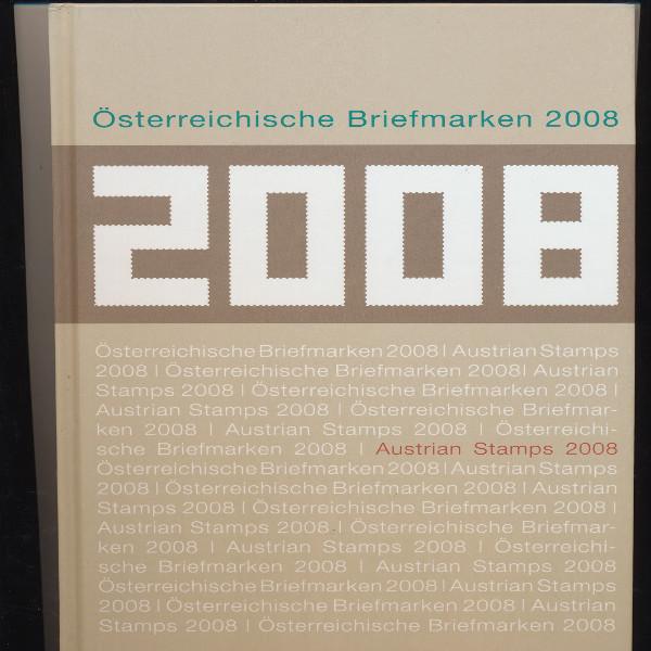 Marken Jahrbuch der Post 2008 Österreich