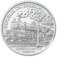 20 Euro 2008 Die Belle Epoque PP Silber ANK Nr.13