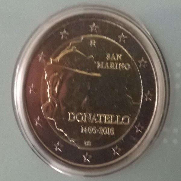 """2 Euro San Marino 2016 """"Donatello"""""""