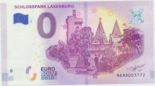 0 Euro Schein 2018-1 Schlosspark Laxenburg - Unc ANK.Nr.09