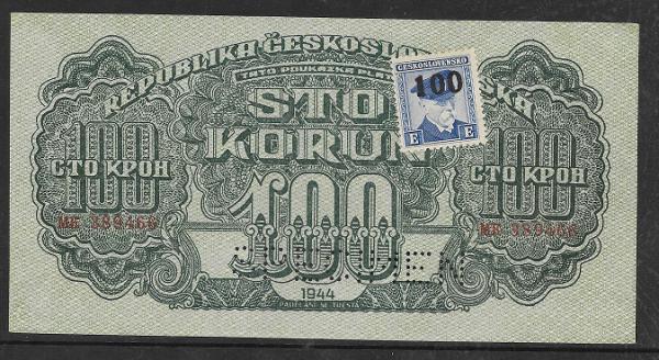 100 Korun 1944 Pi.Nr.53 Specimen