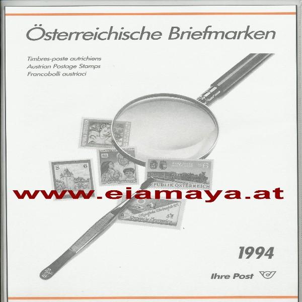 Jahreszusammenstellung der Post 1994