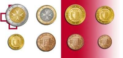 1,2,5,10,20,50,1,2 Set lose Malta