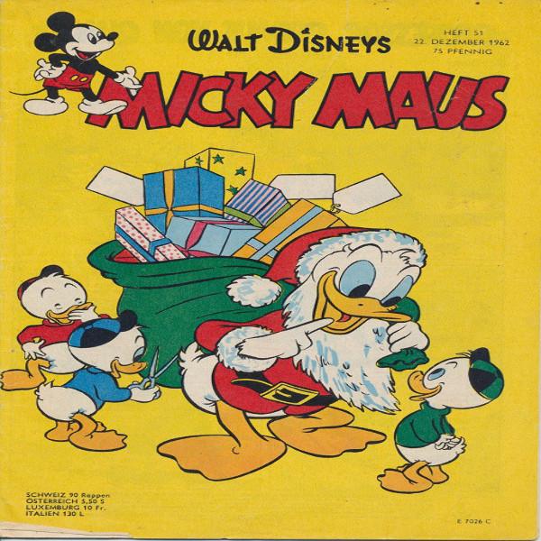 Micky Maus Nr.51/1962