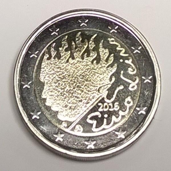 2 Euro Finnland 2016 Eino Leinos