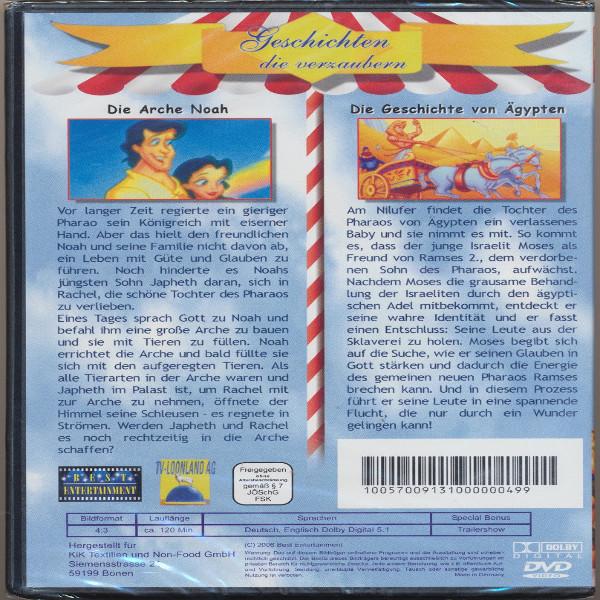 Geschichten die verzaubern Die Arche Noha+Die Geschichte von Ägypten DVD