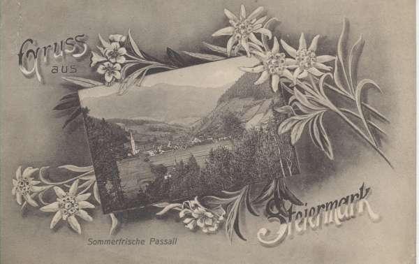 Gruss aus Steiermark Sommerfrische Passail