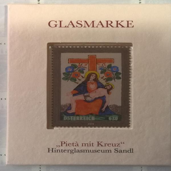 ANK Nr. 3303 Glasmarke Pieta mit Kreuz 6,30 Euro Sandl Postfrisch 2016