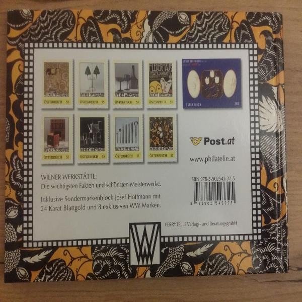 Briefmarkenbuch Vom Jugendstil zum modernen Design mit Block und 8 Marken