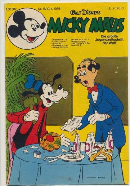 Micky Maus Nr. 16/1975