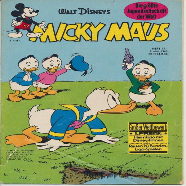 Micky Maus Nr. 19 /1965