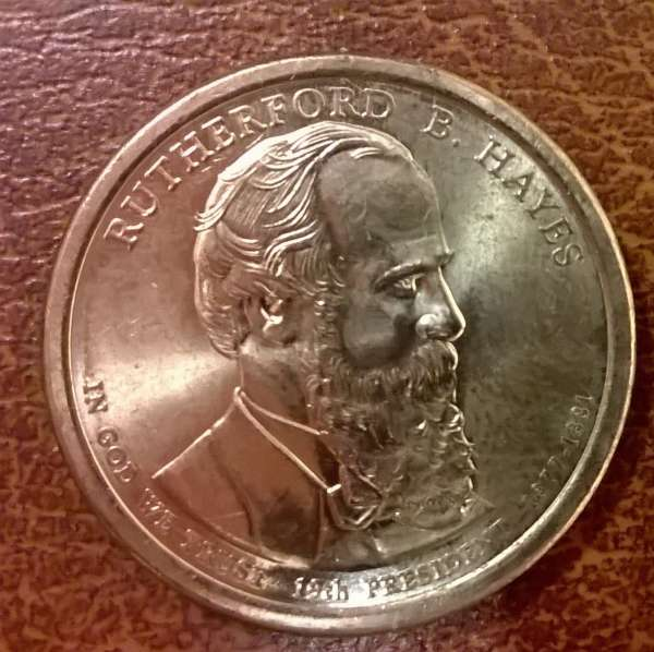 USA 1 Dollar 2011 P Rutherford B. Hayes (19)
