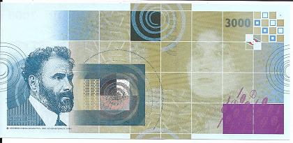 Gustav Klimt 3000 Kaffee Bohnen Austria OEBS0013182 UNC Original