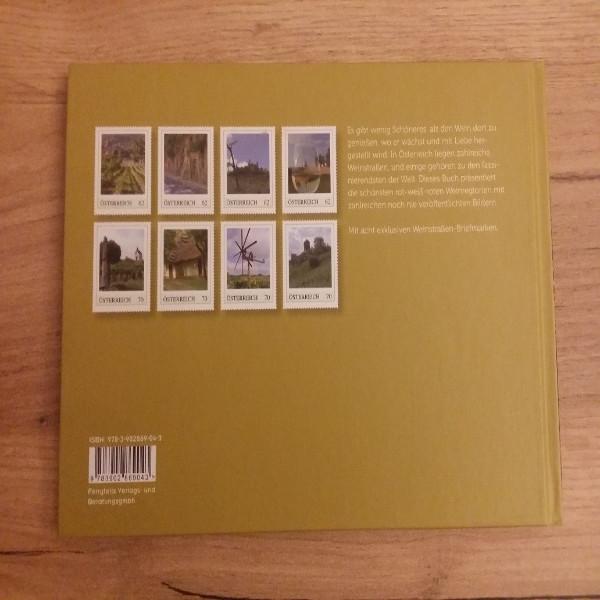 Briefmarkenbuch Österreichs schönste Weinstraßen Reisen zum Wein mit 8 exklusiven Marken