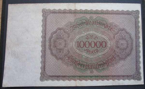 100 000 Mark 1.2.1923 Battenberg Deu-93a 20u.081317