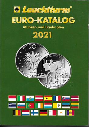 Leuchtturm Euro-Münzen und Banknoten Katalog 2021 18 Auflage
