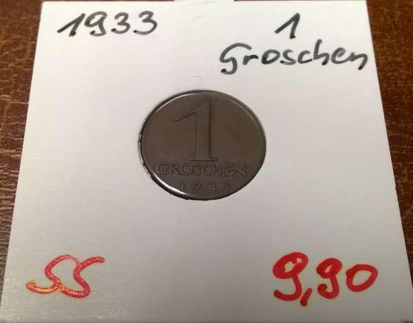 1 Groschen 1933