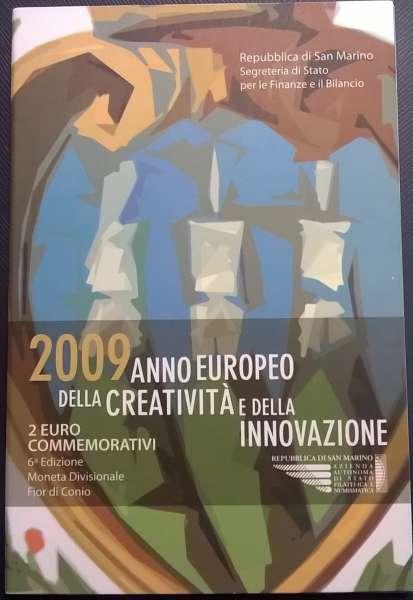 2 Euro San Marino 2009 Jahr der Kreativität