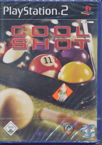 Ps 2 Spiel Cool Shot Neu