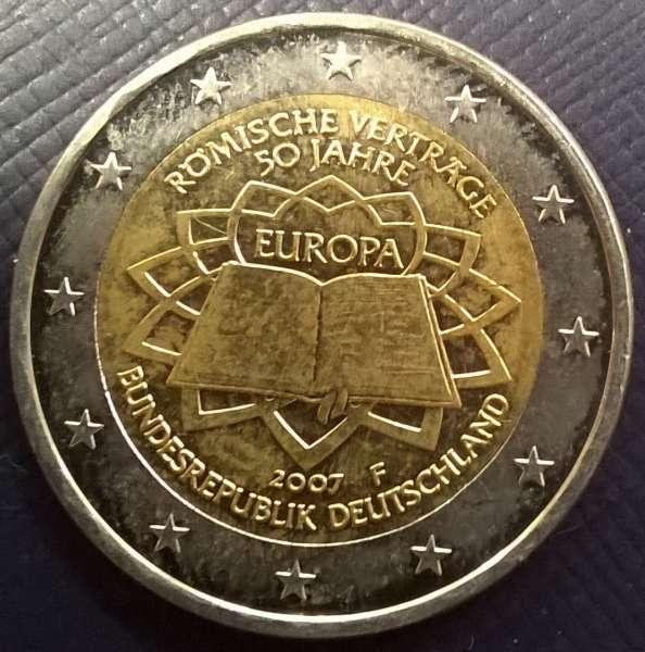 2 Euro Deutschland 2007 Römische Verträge
