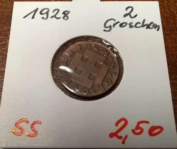 2 Groschen 1928
